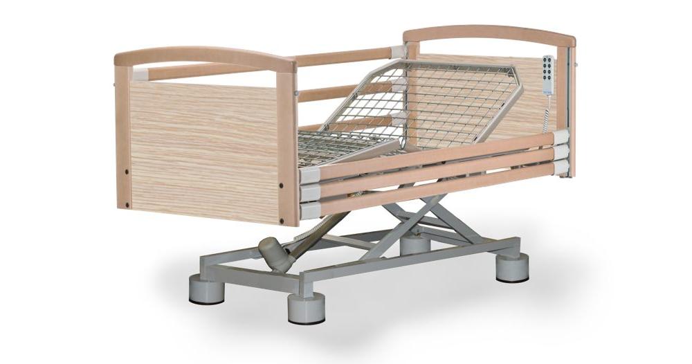 Letto elettrico altezza variabile 40 82 cm 4 sezioni for Altezza letto